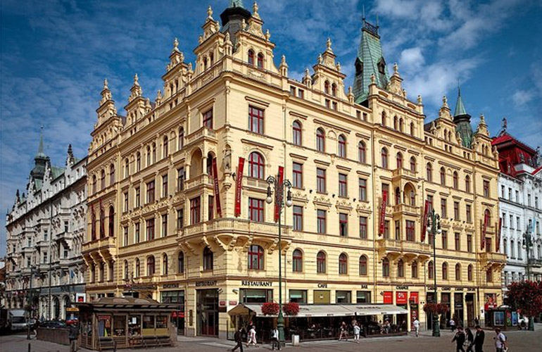 Kings Court, a four-star hotel in Prague