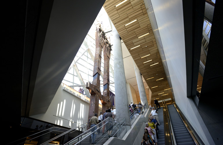 9/11 Memorial Museum Escalator
