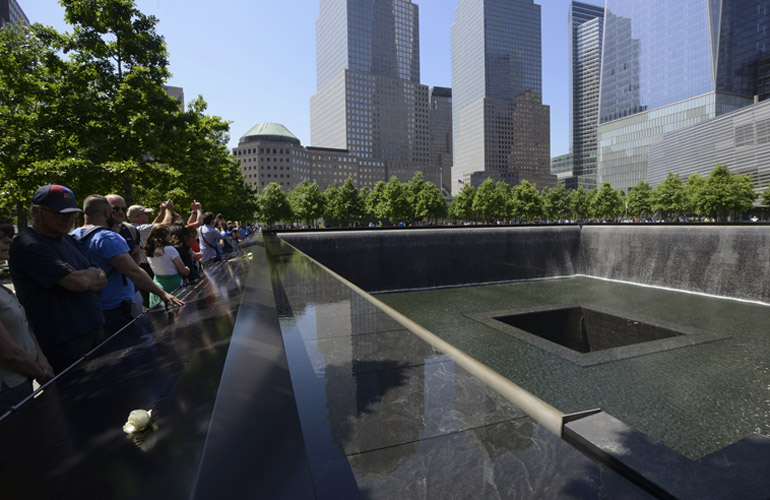 The 9/11 Memorial's South Pool