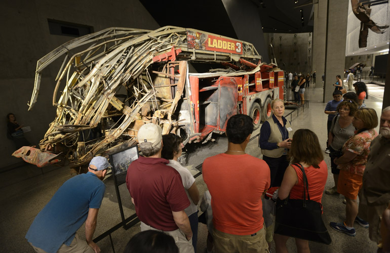 9/11 Museum NYFD Ladder 3