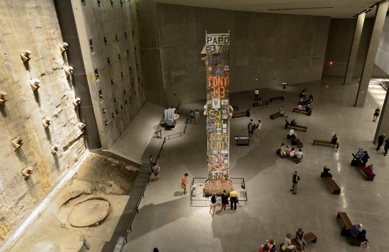 9/11 Memorial Museum Steel Beam