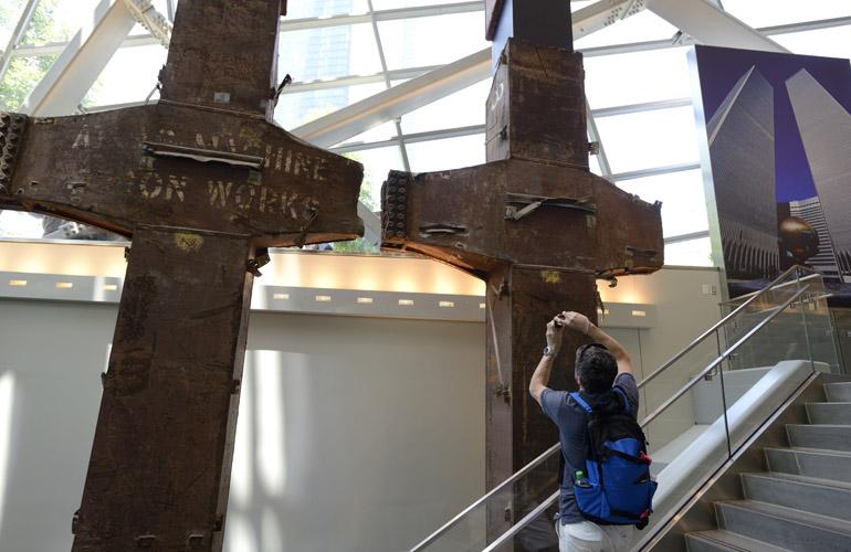 9/11 Museum Twin Steel Beams