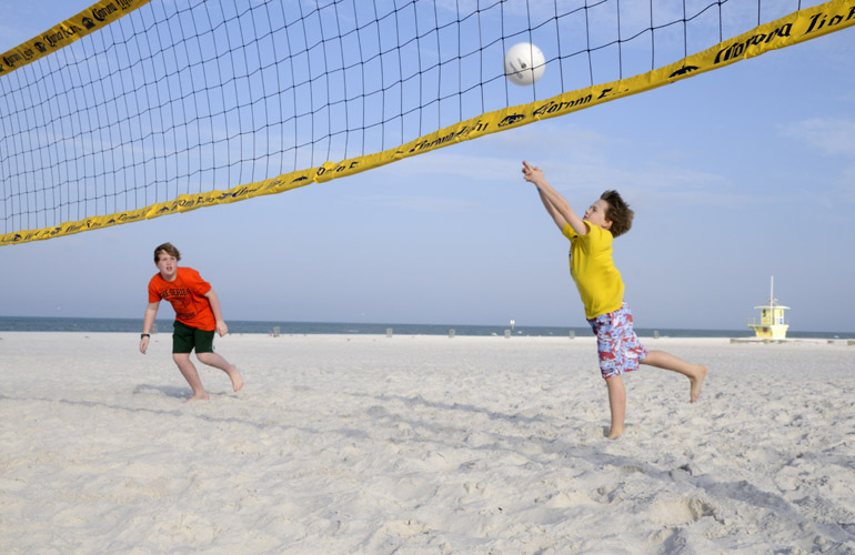 Sandpearl Resort Florida beach volleyball