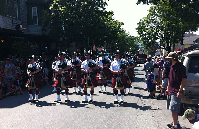 Bar Harbor Maine July 4th Parade