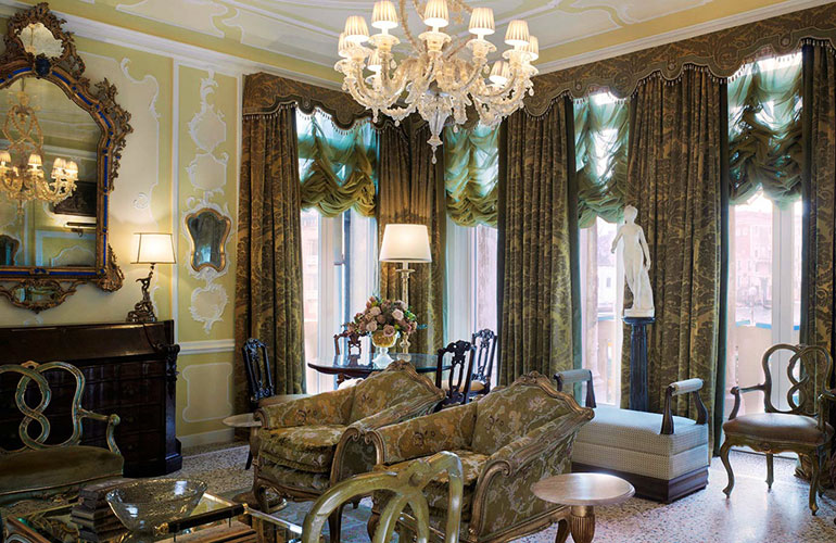Gritti Palace Venice Hemingway Presidential Suite