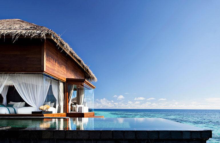 Jumeirah Dhevanafushi resort Maldives