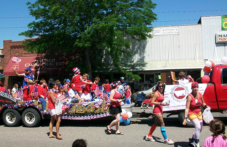 Laurel Montana July 4th parade