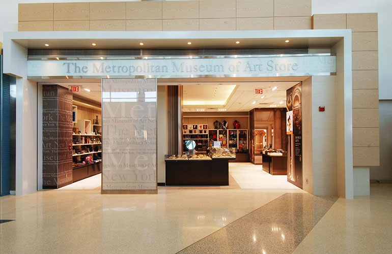 Metropolitan Museum of Art Store at Newark Airport