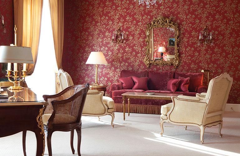 Paris Le Bristol Hotel Elysee Suite