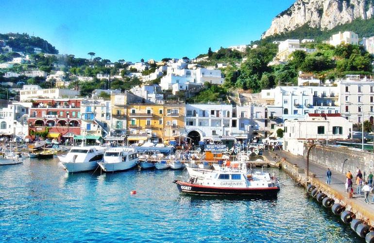Capri City, Italy