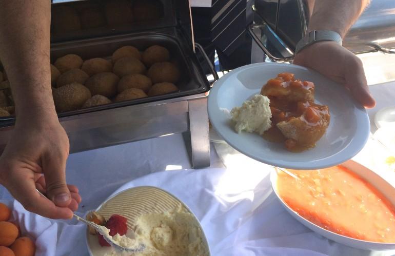 AmaSonata apricot dumpings