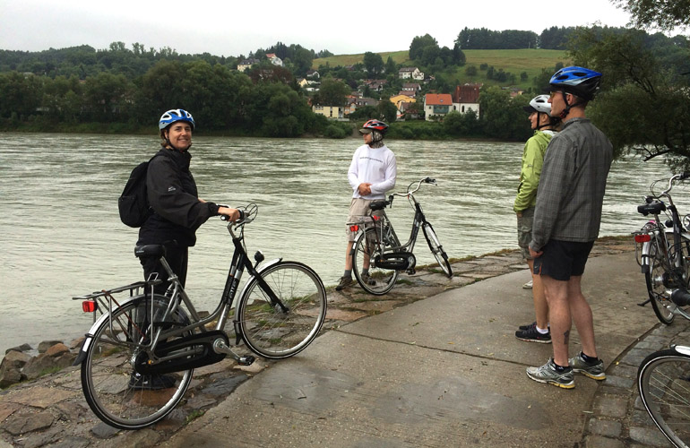 Passau Germany bike trip