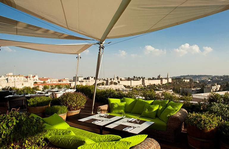 the Mamilla Jerusalem Hotel