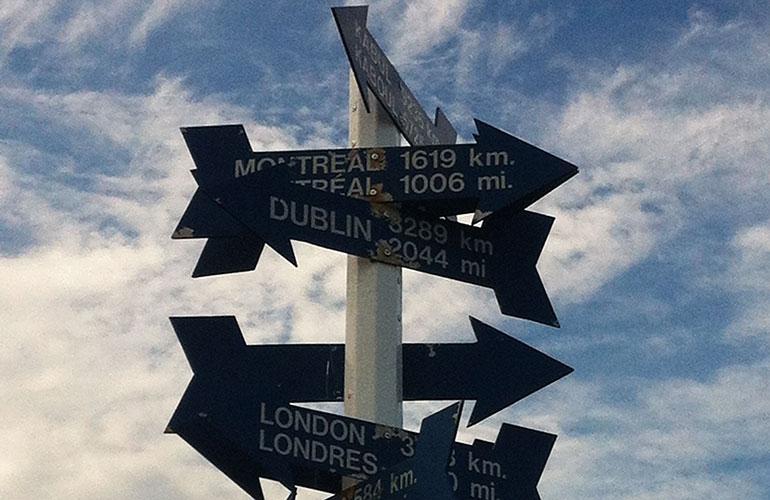 Newfoundland road signs