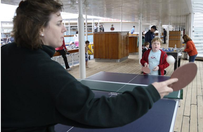 Disney Wonder Ping Pong