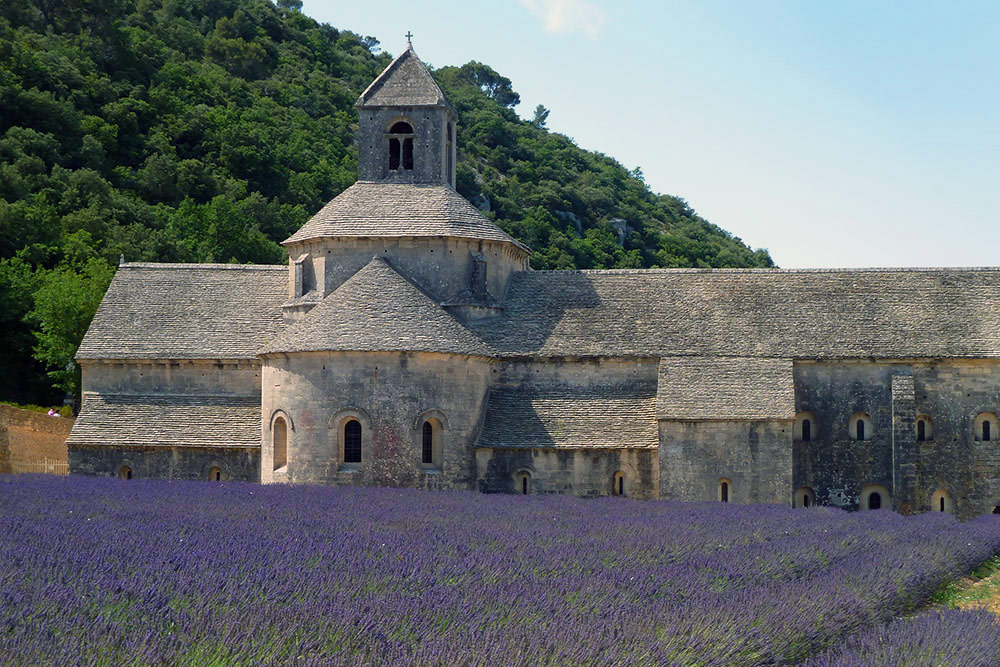 Sénanque Abbey in Provence