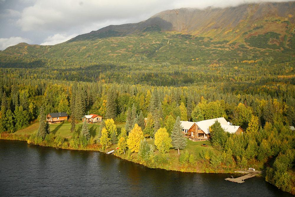 Kenai Fjords Glacier Lodge Alaska
