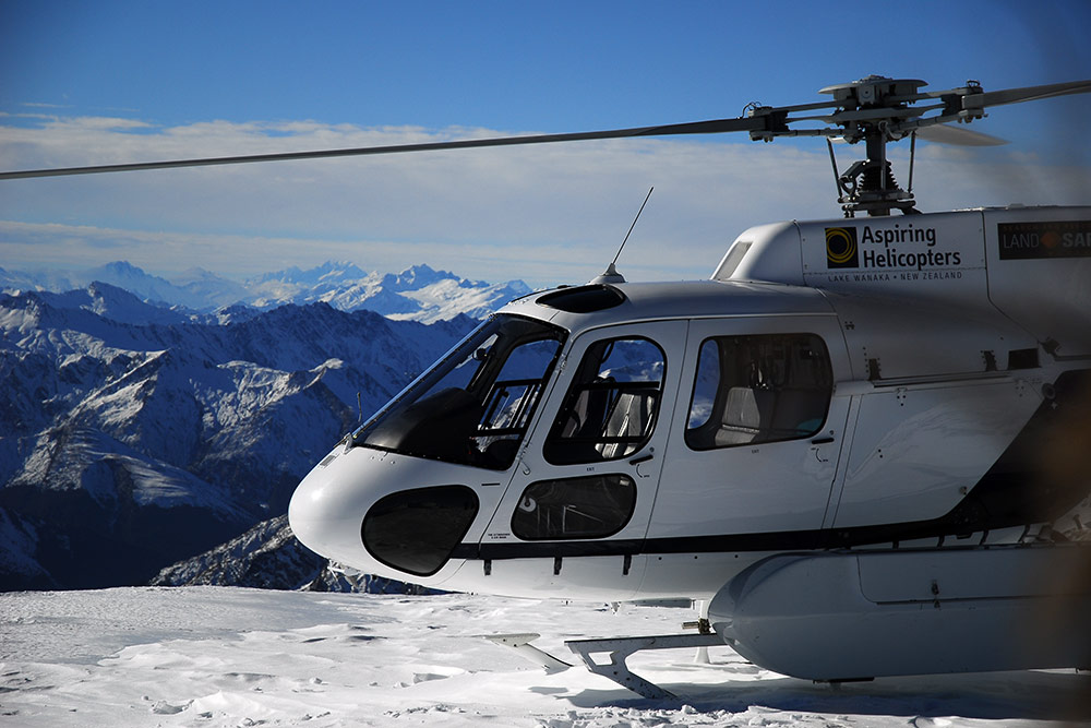 Aspiring Helicopters, Mount Aspiring, New Zealand
