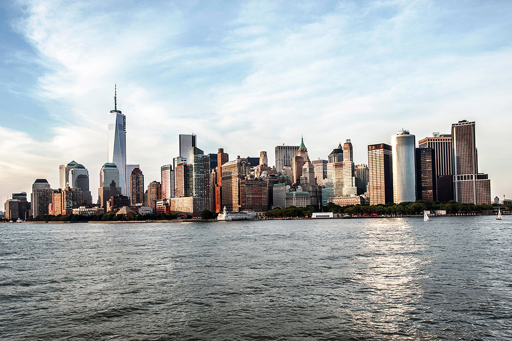 Downtown Manhattan skyline, New York