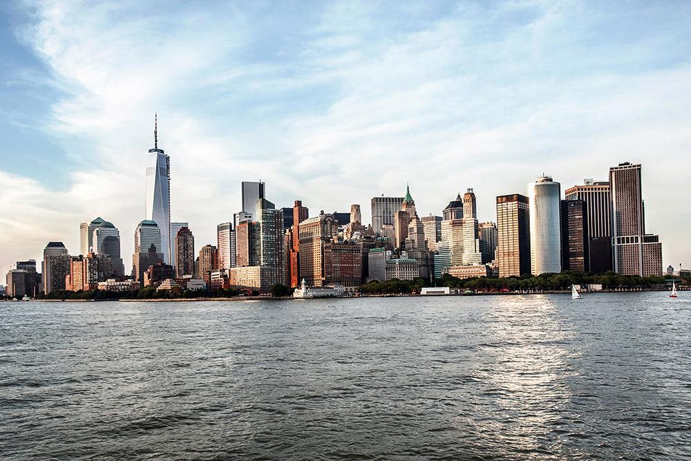Downtown Manhattan skyline, New York