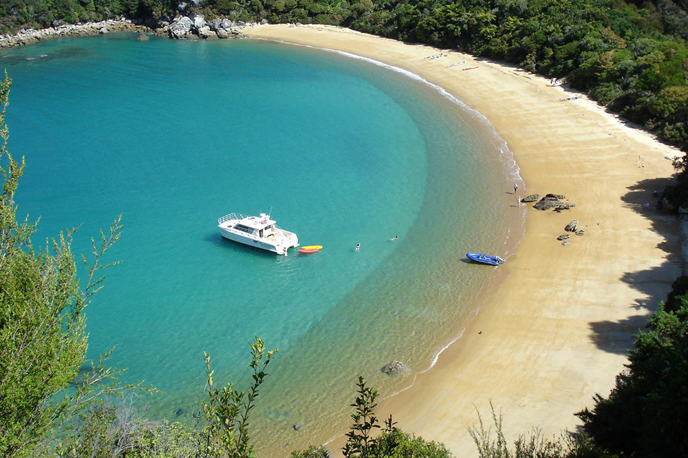 Abel Tasman National Park cruise, New Zealand