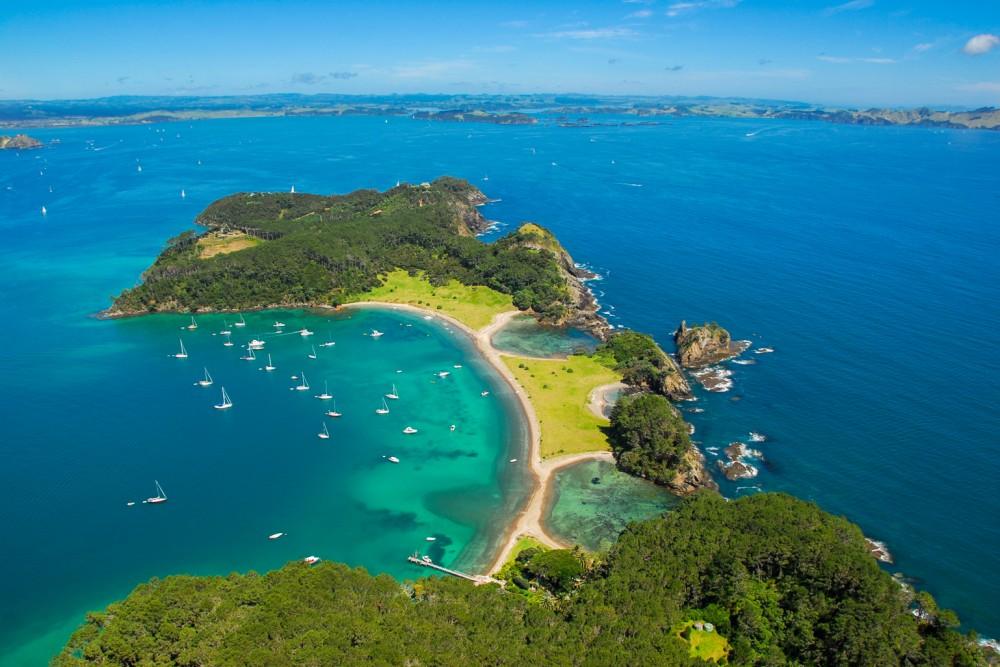 Robertson Island, Bay of Islands, New Zealand