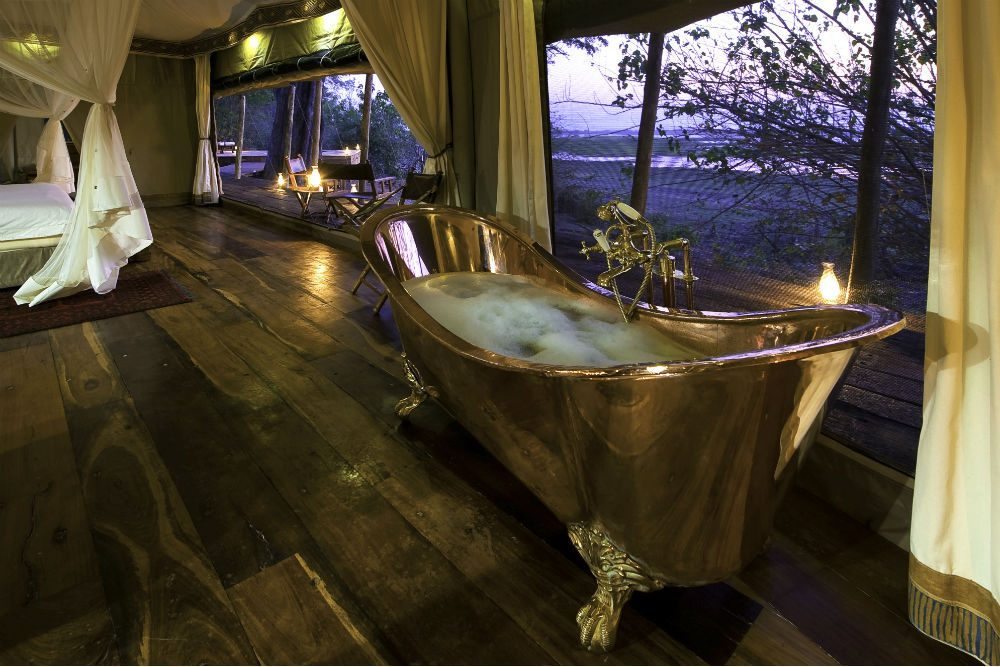 Zarafa safari camp in Botswana