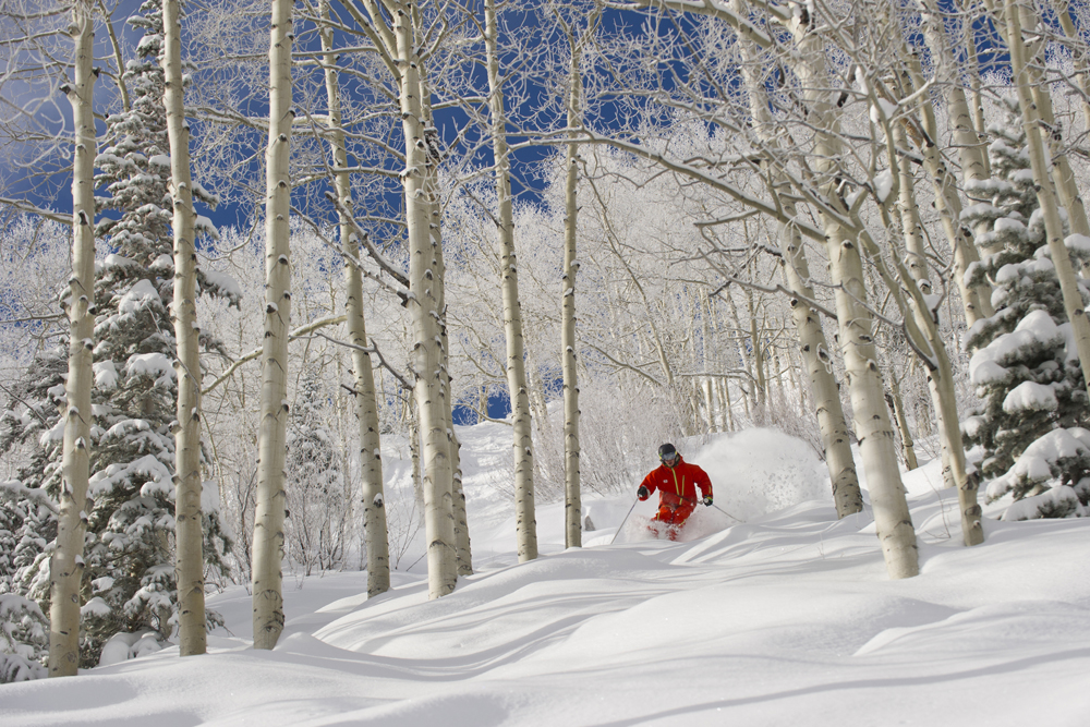 Aspen Skiing, Rockie Mountains