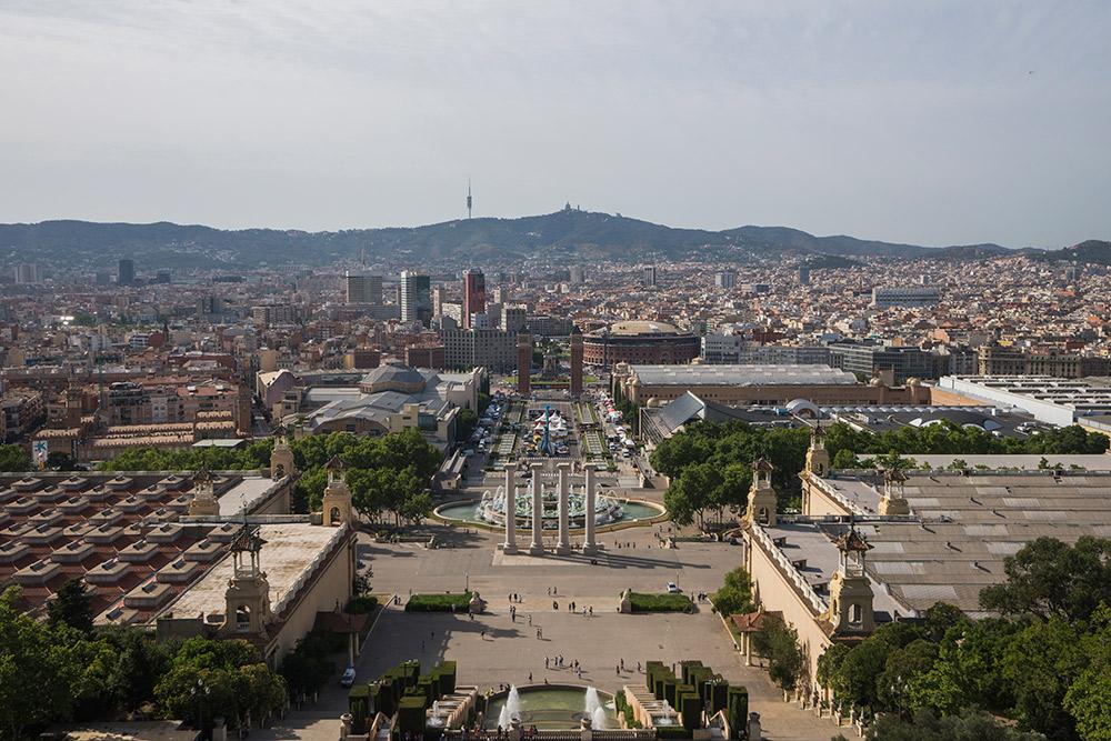 Plaza España, Barcelona