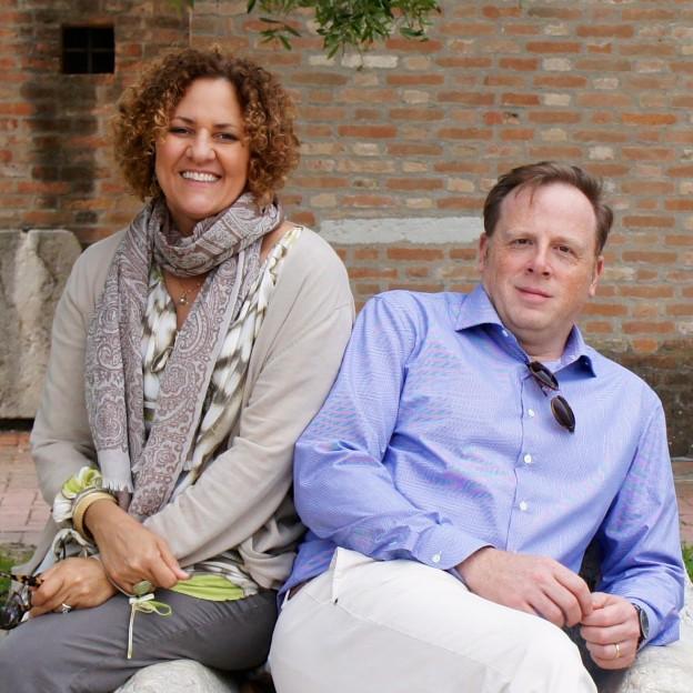 Brian Dore and Maria Gabriella Landers