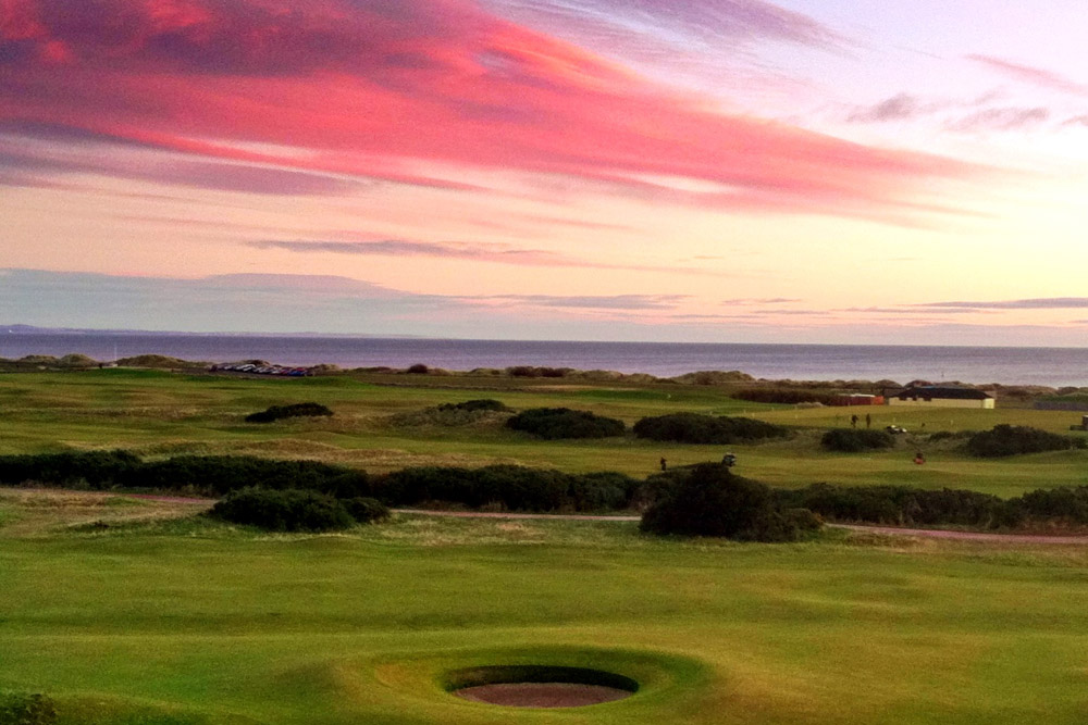 Sunrise at Saint Andrews.  Photo courtesy Jonathan Epstein.