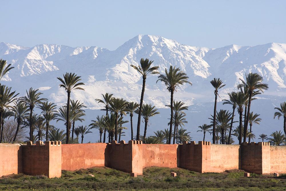 Medina Walls, Marrakech, Morocco