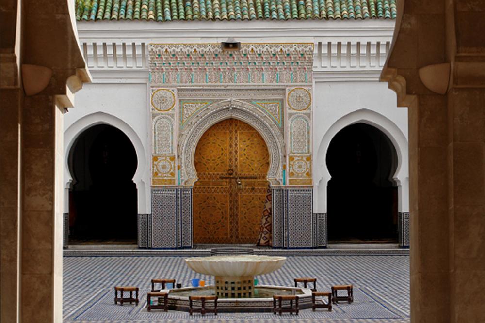Moroccan Gate, Marrakech, Morocco