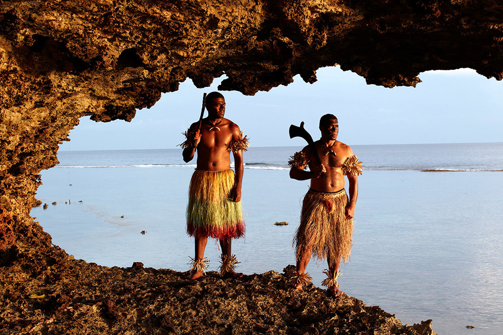 Warriors in Fiji