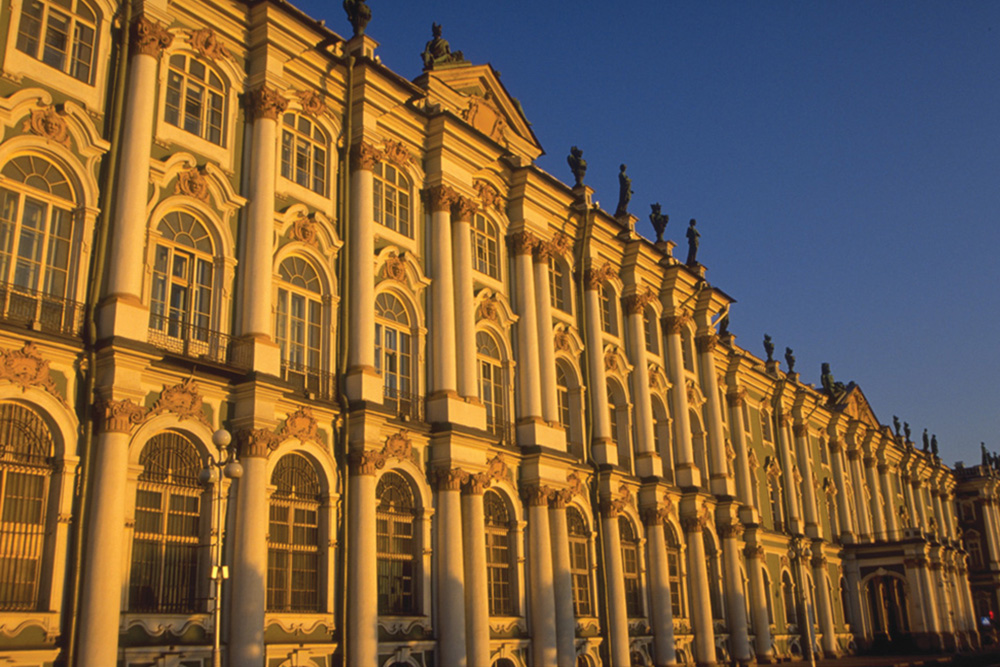 Hermitage, St. Petersburg, Russia. Courtesy Greg Tepper