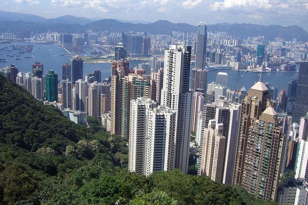 Hong Kong Via Helicopter