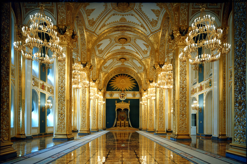 Grand Kremlin Palace, Moscow. Photograph courtesy by Robert Polidori