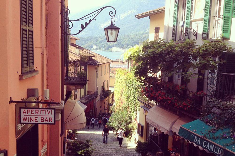 Molly, Bellagio, Aperitivo Italy