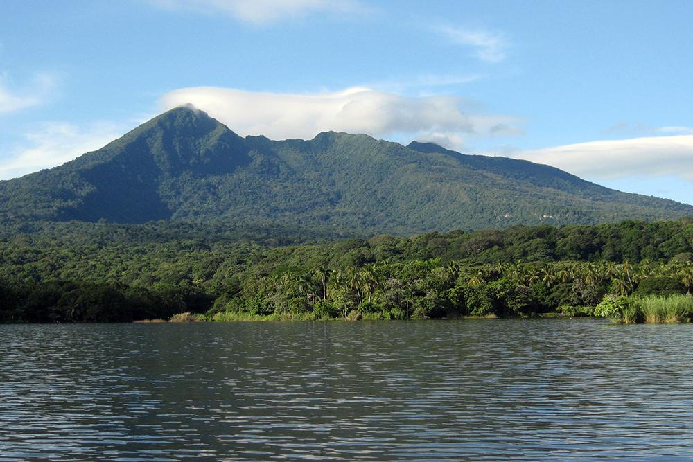Mombacho Volcano and Lake Nicaragua