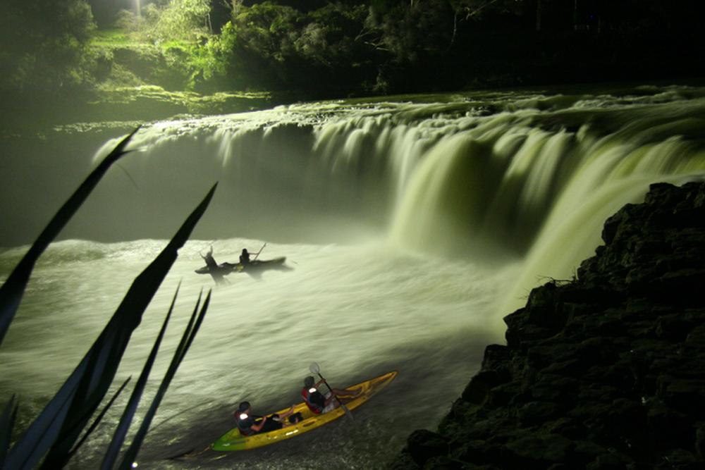 Harura falls, Kayaking, New Zealand