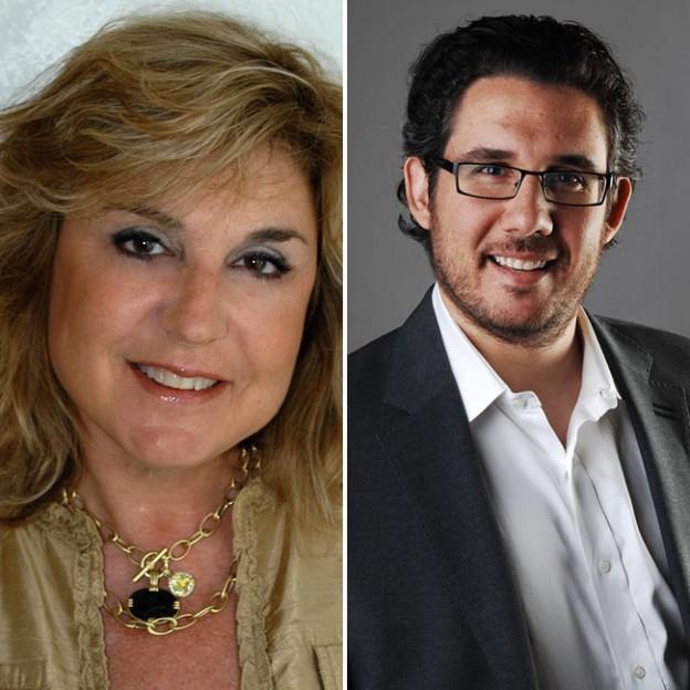 Nina Wennersten and Dan Saperstein