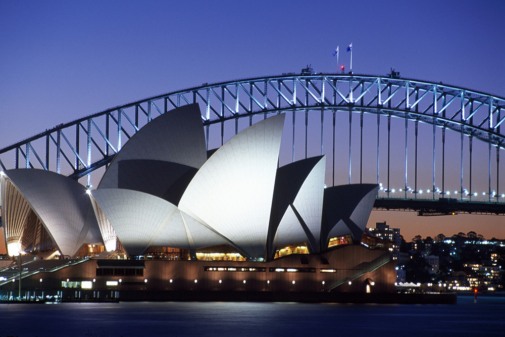Sydney Opera House. Photo courtesy Tourism Australia.