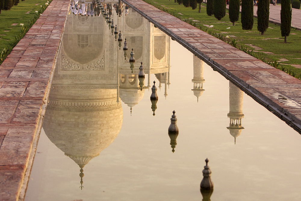 Taj Mahal Reflection, Agra, India