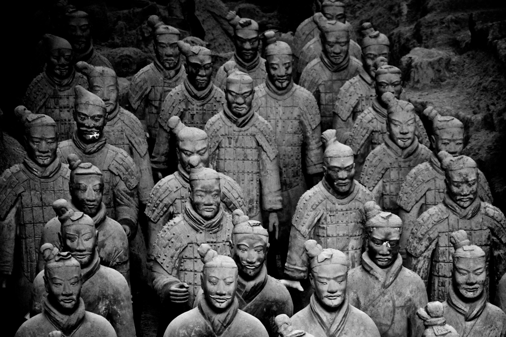 Terra Cotta Warriors. Photo courtesy of Gerald Hatherly.