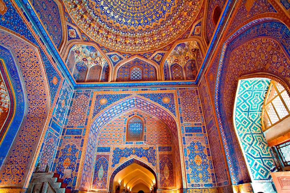 Tilla Kori Medreseh, Samarkand, Uzbekistan