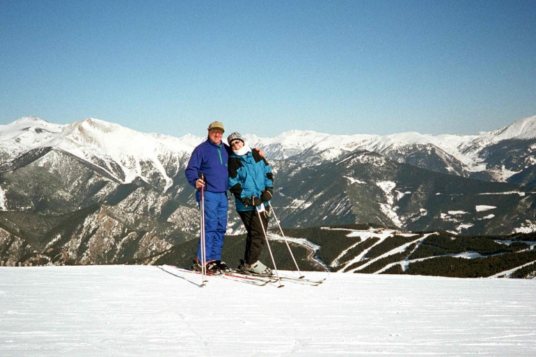 skiing Pyrenees