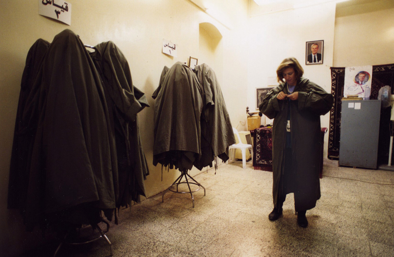 Special clothes room of the Umayyad Mosque in Damascus, Syria