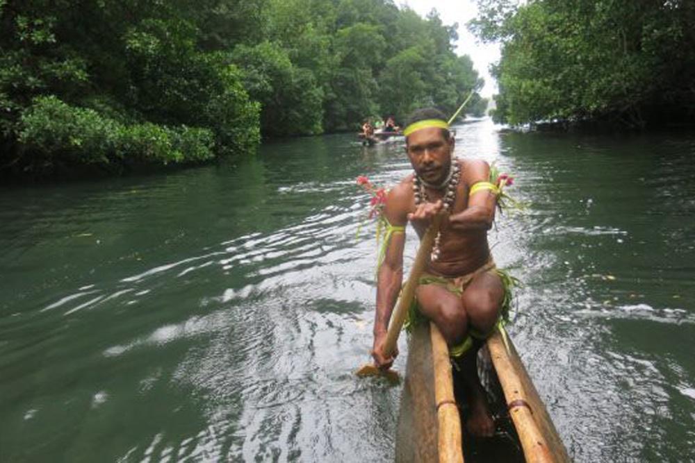Canoe, Tufi, Papua New Guinea
