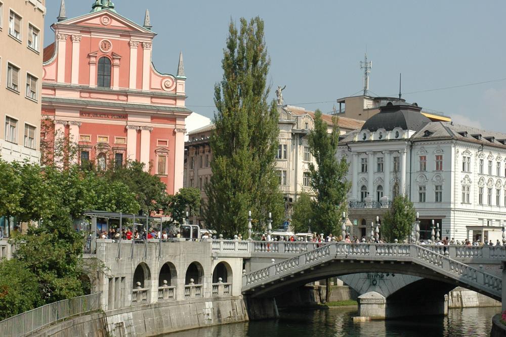 Ljublijana River, Slovenia