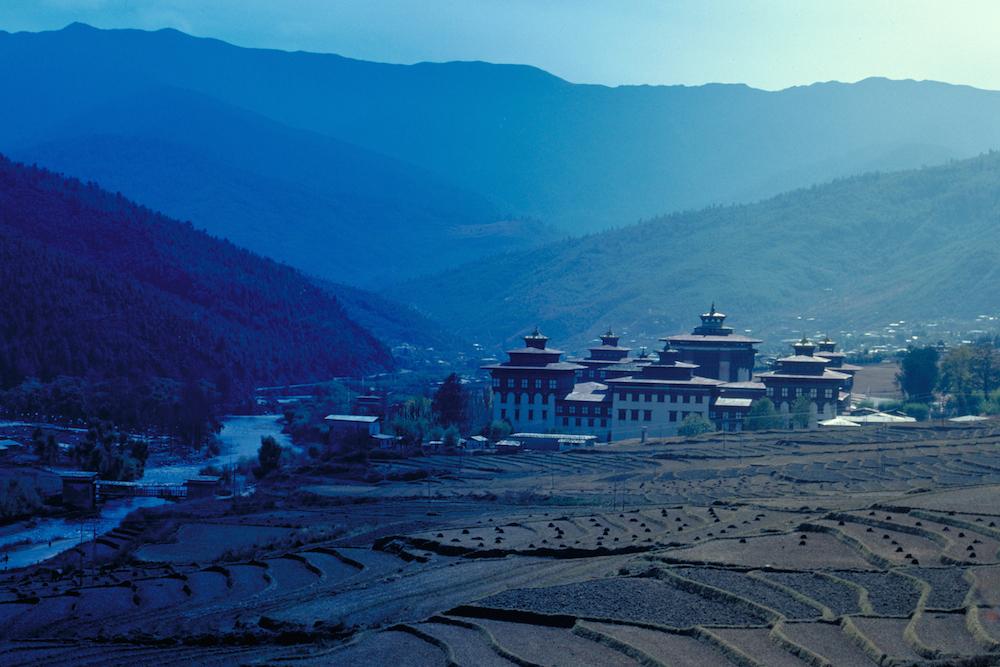 Sunrise Thimphu, Bhutan. Photo courtesy Antonia Neubauer.